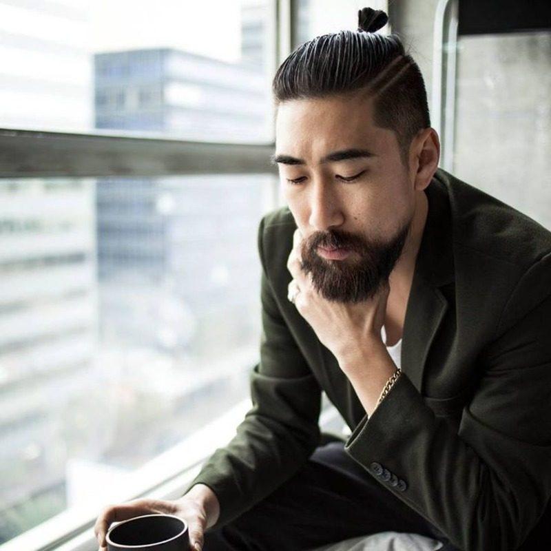image99 | Модные мужские стрижки на длинные волосы 2018