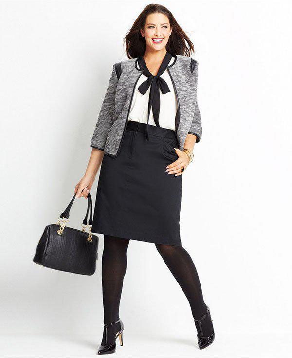 image12-77   20 стильных образов с юбкой для деловой леди