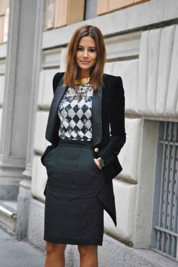 image14-75   20 стильных образов с юбкой для деловой леди