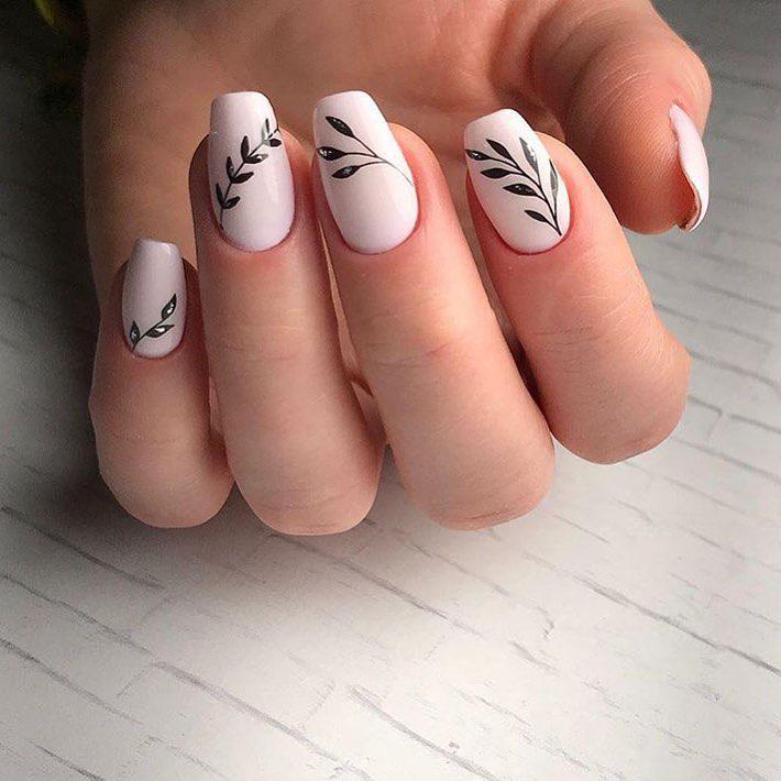 image17-40   Интересные идеи маникюра с рисунками на ногтях