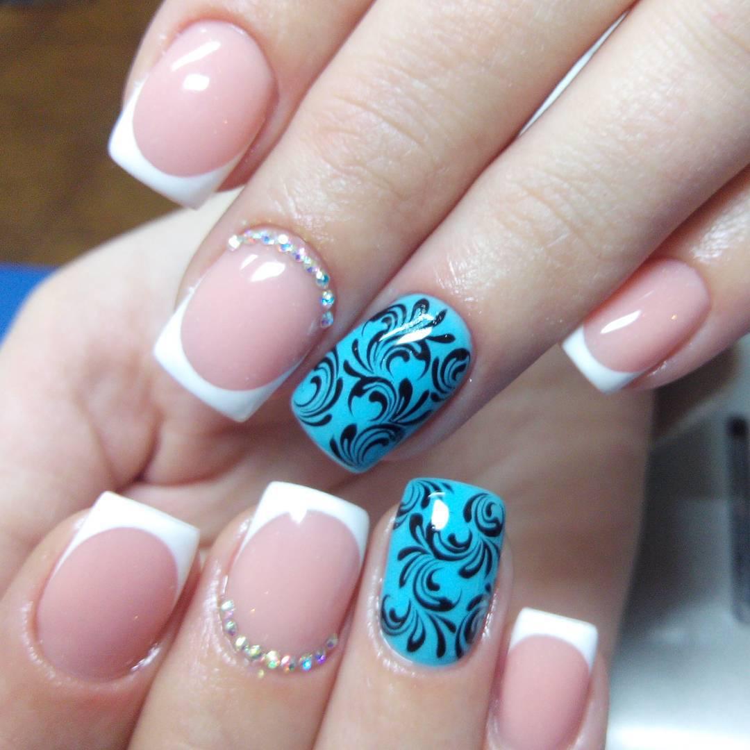 image18-58 | Прекрасные идеи маникюра на квадратные ногти