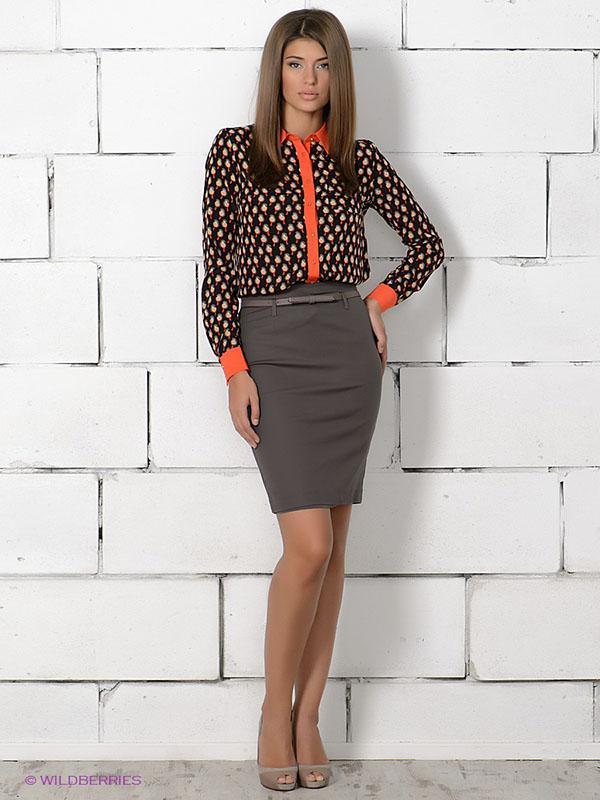 image18-60   20 стильных образов с юбкой для деловой леди
