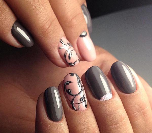 image2-131   Модный маникюр с дизайном на короткие ногти