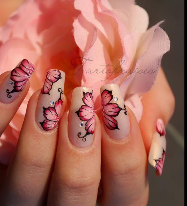 image20-6 | Потрясающие идеи цветочного маникюра