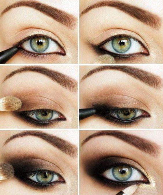 image4-120   Искусство макияжа: пошаговые инструкции на все случаи жизни