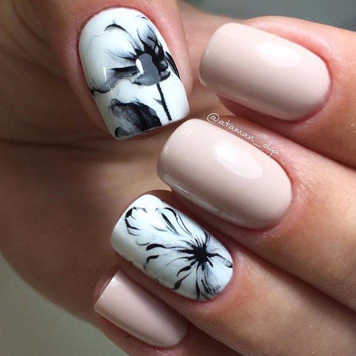 image4-91   Интересные идеи маникюра с рисунками на ногтях