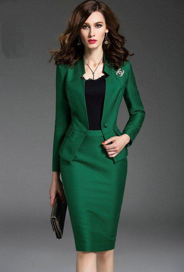 image8-93   20 стильных образов с юбкой для деловой леди