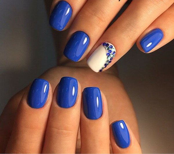 image1-199 | Прекрасные идеи весеннего маникюра в синих тонах