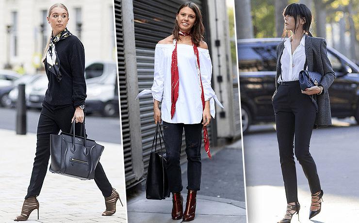 image1-7   8 стильных образов с черными брюками: модные тенденции весны 2018