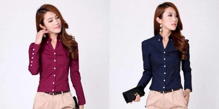 image14-30   Офисный стиль: как носить рубашку и не выглядеть скучной