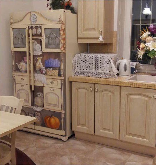 image23-9 | Новый дизайн старого холодильника: 7 способов создать стильный интерьер