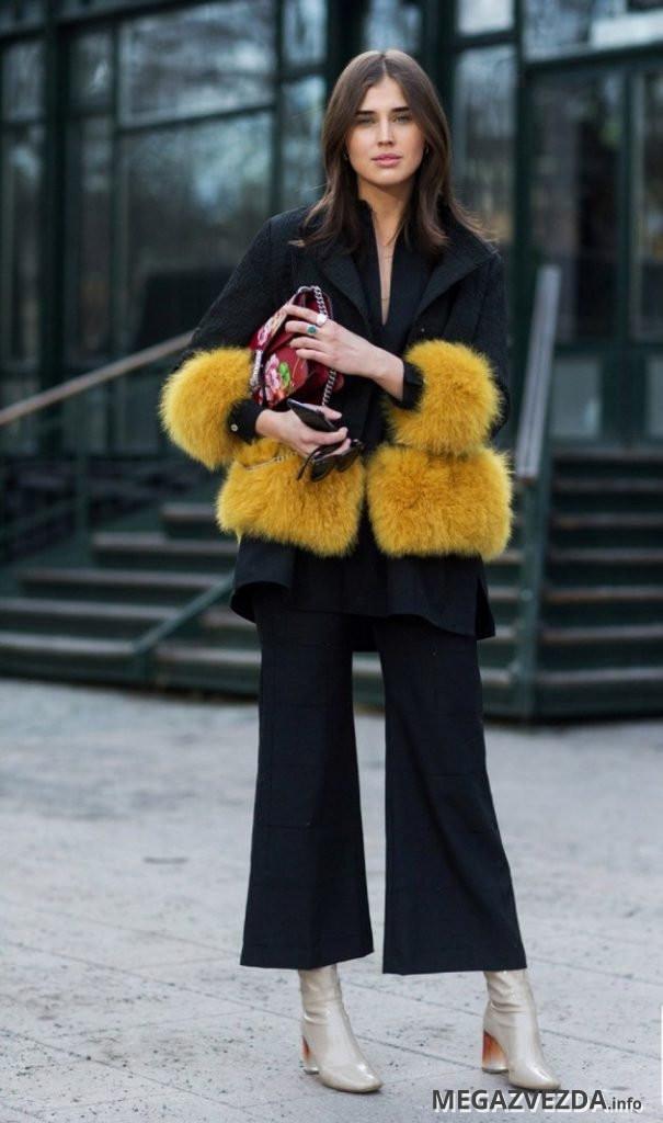 image31-11   8 стильных образов с черными брюками: модные тенденции весны 2018