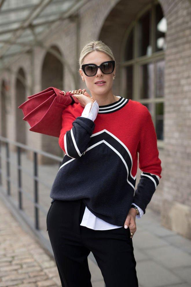image5-102   8 стильных образов с черными брюками: модные тенденции весны 2018