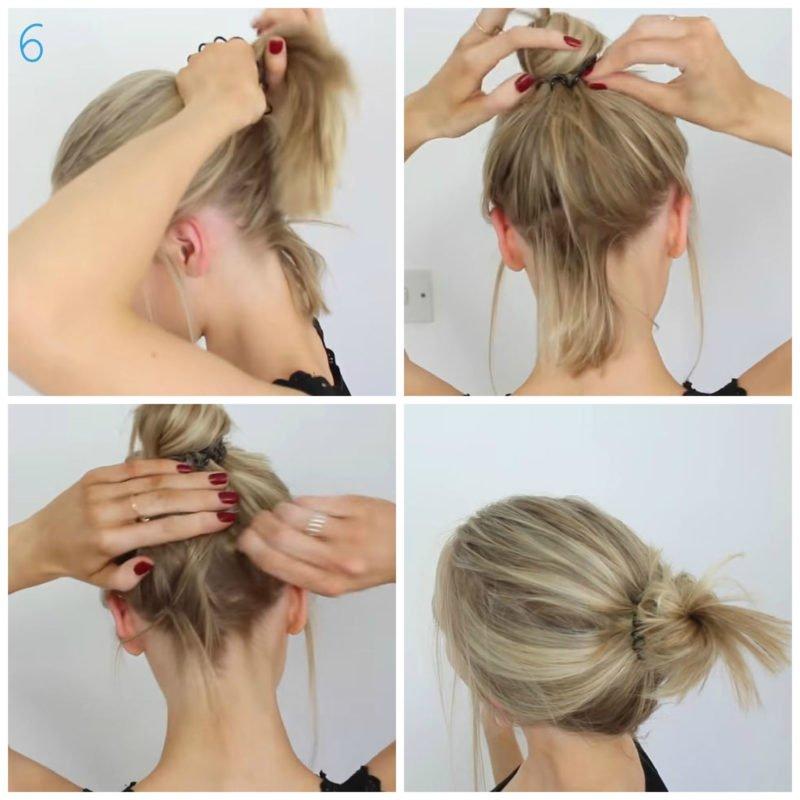 image8-19 | 10 лёгких причёсок для коротких и средних волос на каждый день