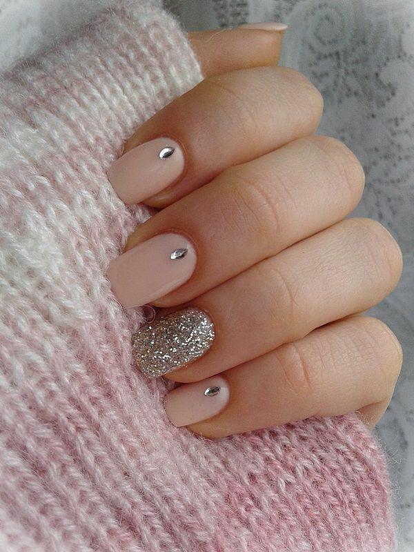 embellished-nails-3 | Тренды маникюра: маникюр с украшениями