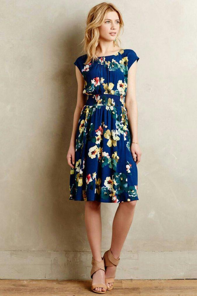 floral-cocktail-dresses-women-summer-outfit-675x1013 | 10 прекрасных идей нарядов весны и лета 2018