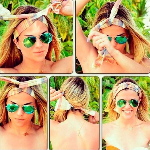 image13-6   Как красиво и оригинально повязать шарф или палантин на голову