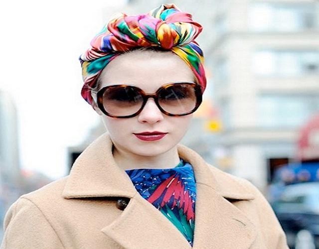 image2-11   Как красиво и оригинально повязать шарф или палантин на голову