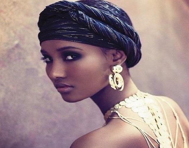 image31-2   Как красиво и оригинально повязать шарф или палантин на голову