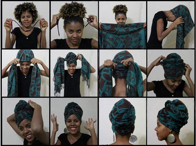 image33-2   Как красиво и оригинально повязать шарф или палантин на голову