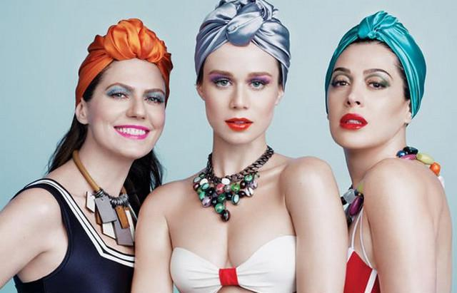 image37-1   Как красиво и оригинально повязать шарф или палантин на голову