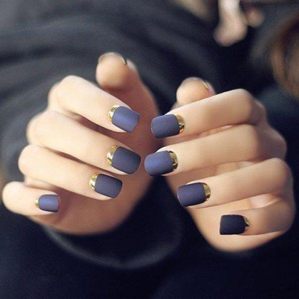 metallic-nails-10 | Тренды маникюра: ногти-металлик