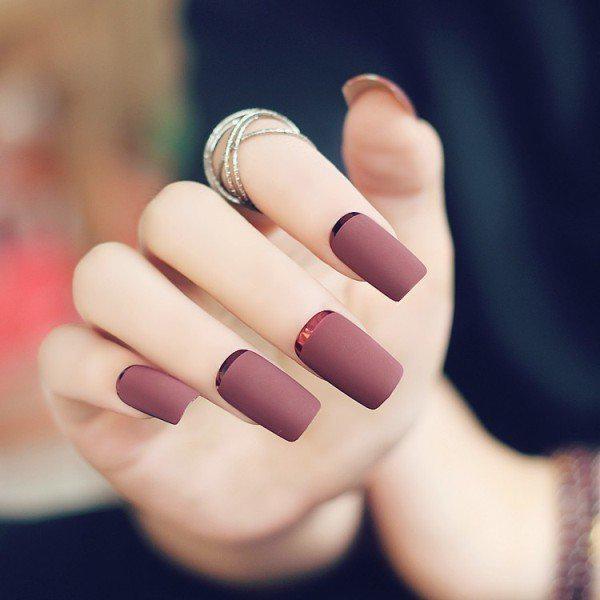 simple-nails-5 | Тренды маникюра: простой маникюр