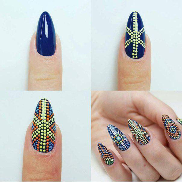 image1-7 | Маникюр «дотс» — 40 отличных вариантов дизайна ногтей