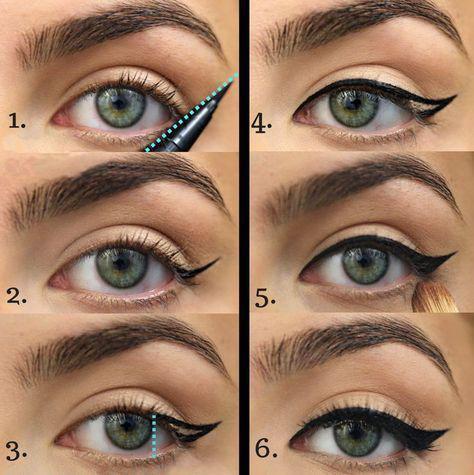 image11-28 | Лучшие идеи макияжа со схемами — 15 фото!
