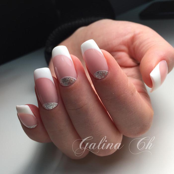 image17-10   Стильный маникюр на короткие ногти