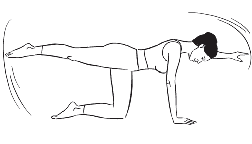 image35   Пилатес: 19 упражнений для идеальной спины