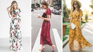 15 длинных платьев лета 2018: каждая выберет себе по вкусу