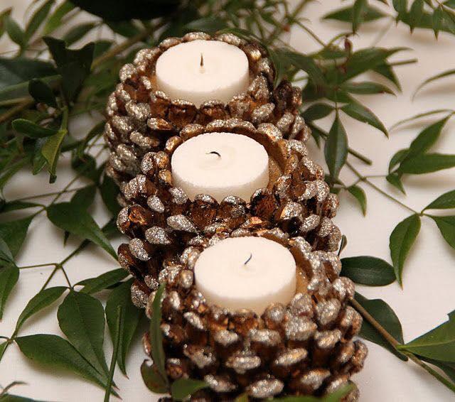 image11-7   Новогодние украшения из шишек своими руками