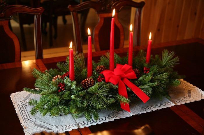 image12-7   Новогодние украшения из шишек своими руками