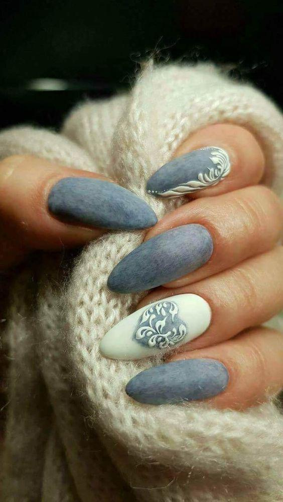 image2-6 | Синий маникюр — для зимы и не только!