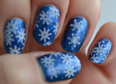 image5-6 | Синий маникюр — для зимы и не только!