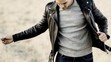 Кожаные куртки — нестареющая классика