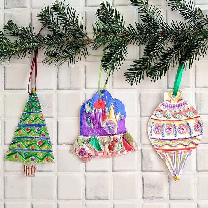 image15-1   Рождественские и Новогодние украшения из втросырья своими руками