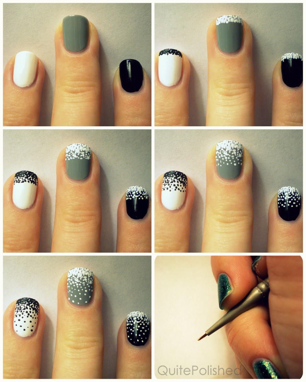 image15-9 | 25 простых узоров на ногтях для начинающих
