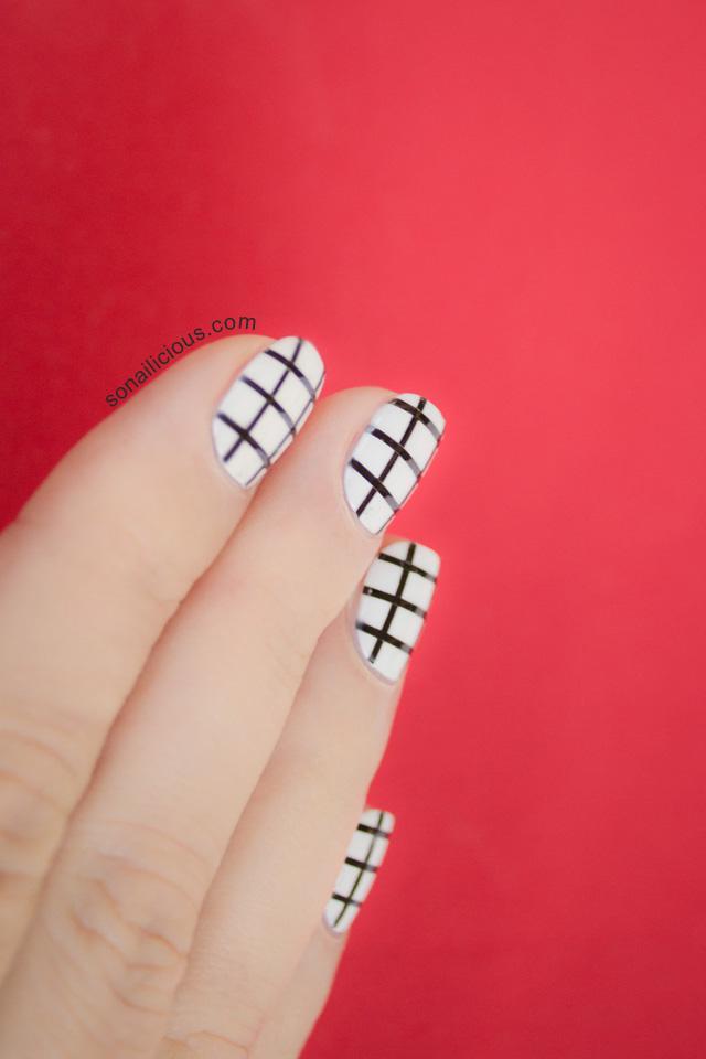 image23-4 | 25 простых узоров на ногтях для начинающих