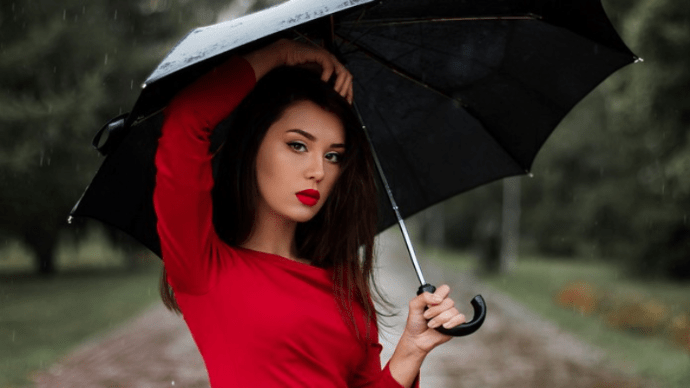 Как устроен зонт