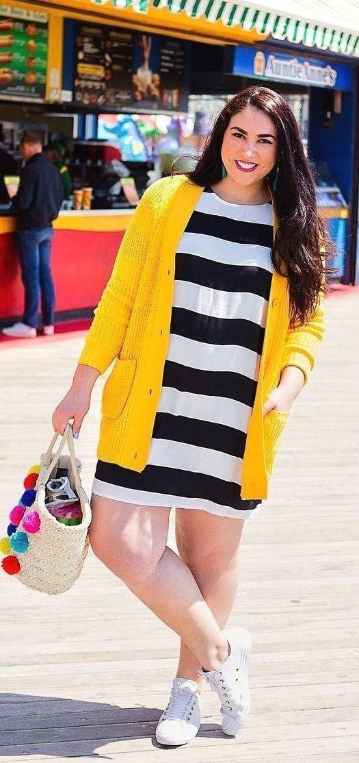 image16-17 | 39 стильных и элегантных платьев для полных женщин