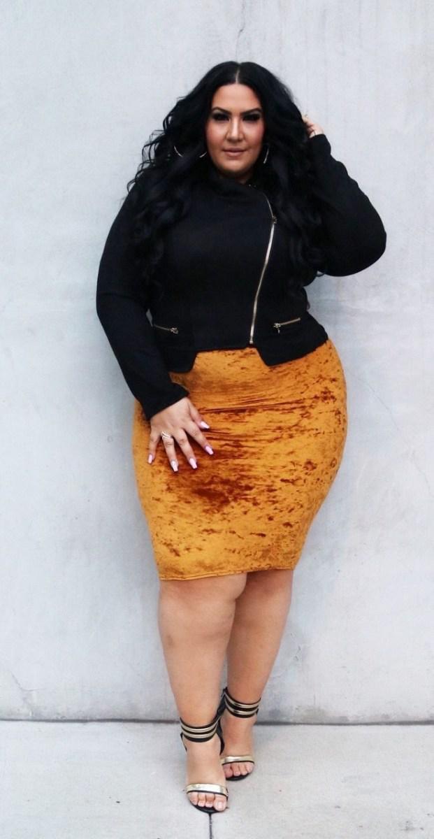 image17-18 | 39 стильных и элегантных платьев для полных женщин