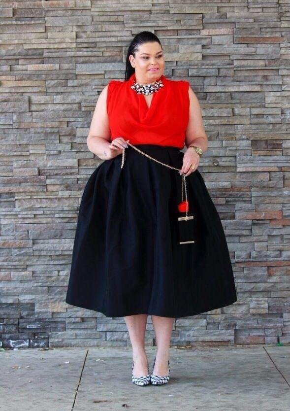 image3-24 | 39 стильных и элегантных платьев для полных женщин