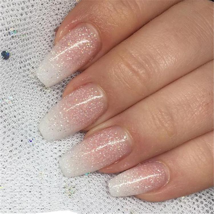 image6-20 | 20+ идей нюдового маникюра омбре на акриловые ногти
