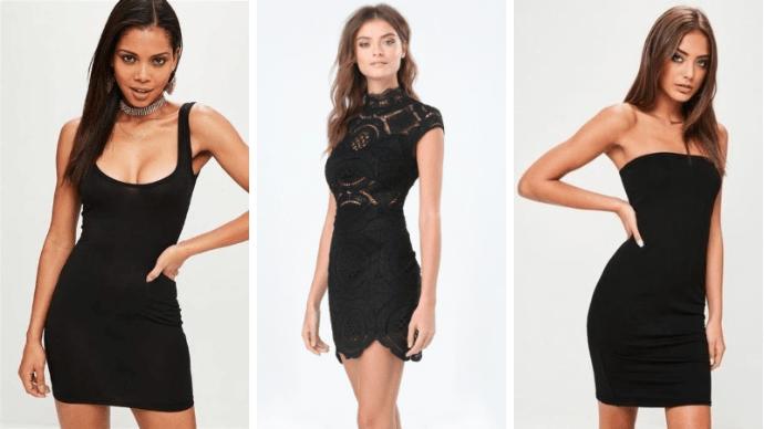 36 идей маленького черного платья