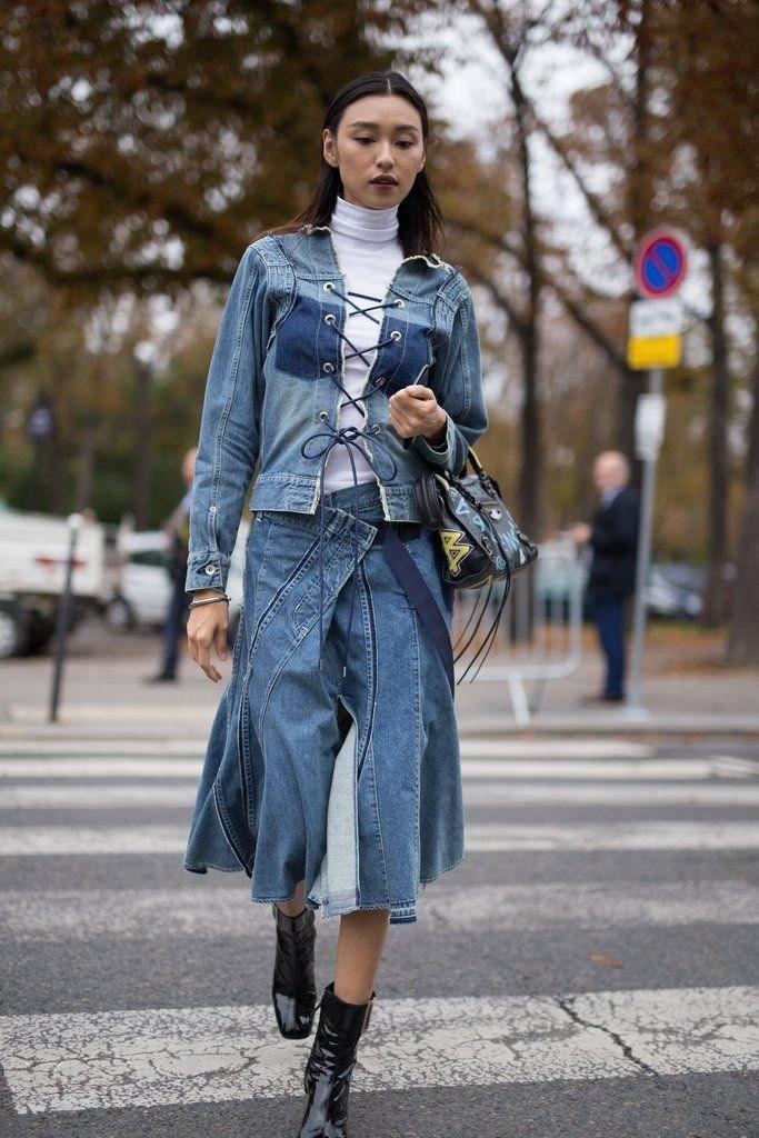 image12-11 | Как носить джинсы этой весной — 39 образов с фото