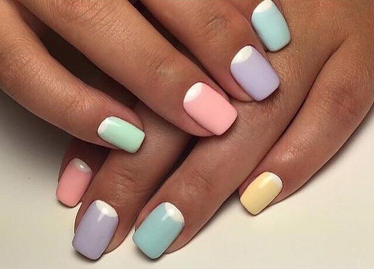 image2-27   34 идеи разноцветного маникюра — радуга на кончиках ваших пальцев