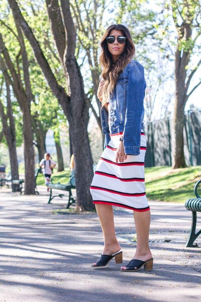 image24-9 | Как носить джинсы этой весной — 39 образов с фото