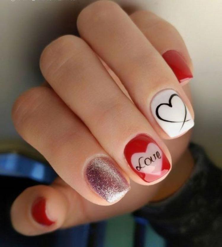 image37-6 | Самые романтичные идеи маникюра для Дня Святого Валентина